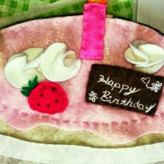 【アプリ投稿】〈デコレーションケーキ〉