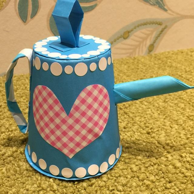 【アプリ投稿】【ティーポット】折り紙おもちゃ