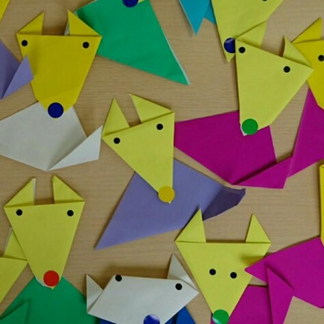 【アプリ投稿】⚫きつねの折り紙