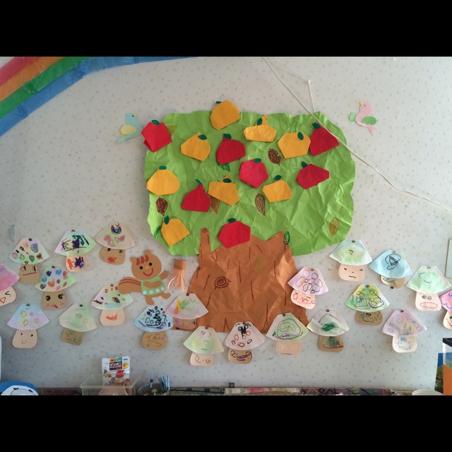 【アプリ投稿】3歳児きのこ・梨・りんご