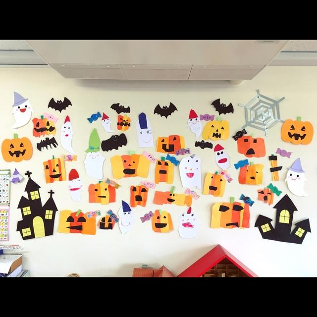 【アプリ投稿】10月の壁面製作。