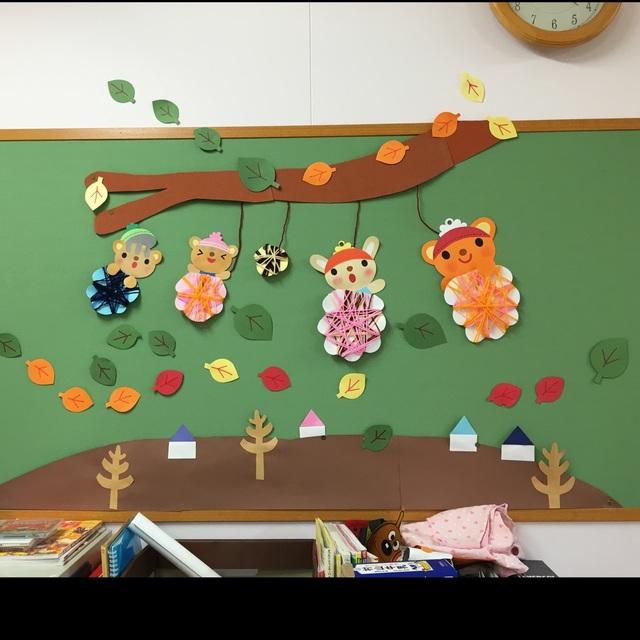 【アプリ投稿】秋の壁面
