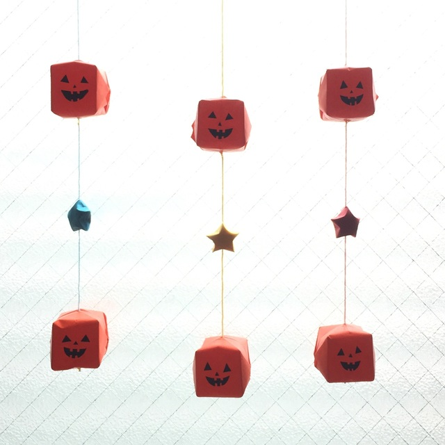 【アプリ投稿】ハロウィン飾り!