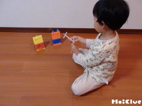 割り箸鉄砲で鬼退治!〜3つの材料で楽しめる手作りおもちゃ〜