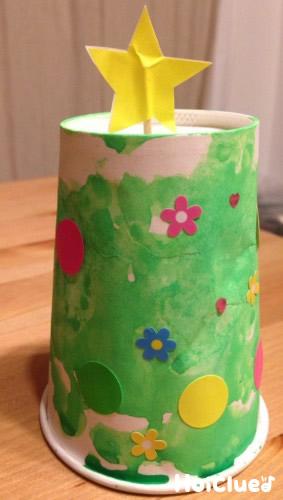 紙コップツリー〜楽しみ方色々の手作りツリー〜