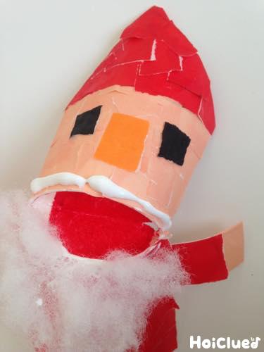 サンタクロースの完成品の写真