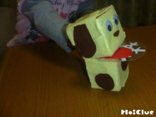 牛乳パックパペット〜パクパク動かして楽しむ手作りおもちゃ〜