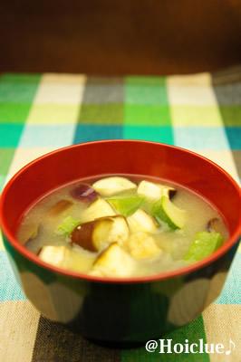 お味噌汁の写真