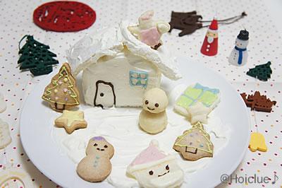 クリスマスにちなんだワクワクお菓子☆クリスマスの世界を作ってみよう!
