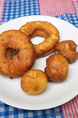 さつまいもdeドーナッツ〜秋においしい簡単ほくほくおやつ〜