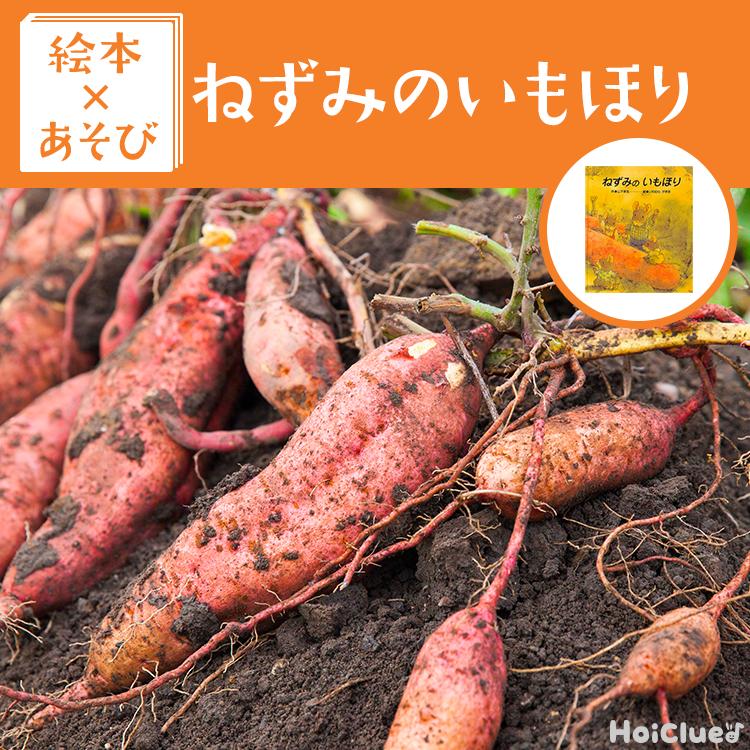 【絵本×あそび】お芋に触れよう!〜絵本/ねずみのいもほり〜