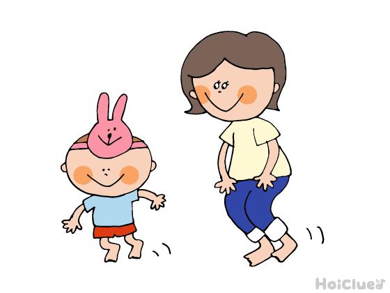 親子deなりきりアニマル〜乳児さんから楽しめる障害物競走