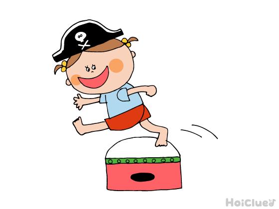 いけいけ!子ども海賊団〜宝探しアドベンチャーが楽しめる障害物競技〜