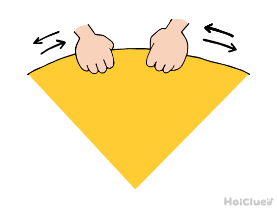 パラバルーンの動作説明のイラスト
