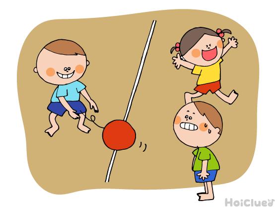 ボールころころドッチ〜異年齢でも楽しめるボール遊び
