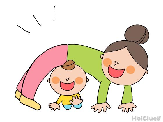 なりきりトンネルくぐり〜ハイハイが楽しい♪乳児さんにぴったりの運動遊び〜