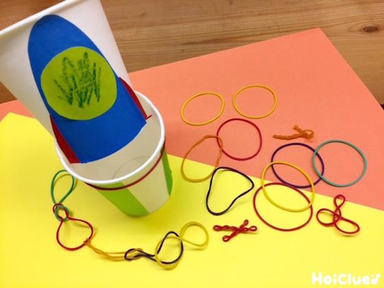 輪ゴムが主役のアイディア遊び&輪ゴムのバネを使ったおもしろおもちゃ15選!