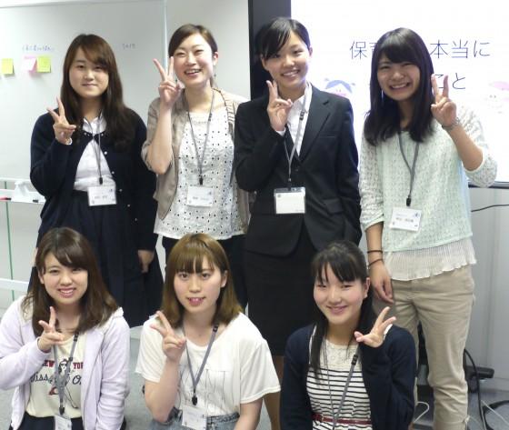参加者たちの集合写真