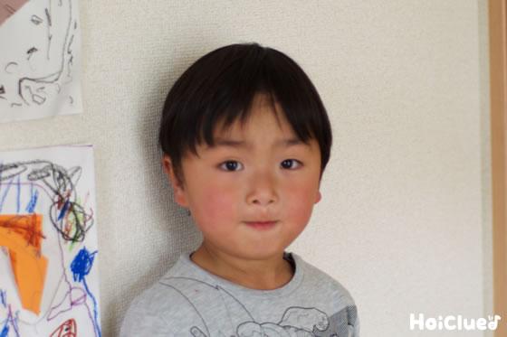 子どもの顔の写真