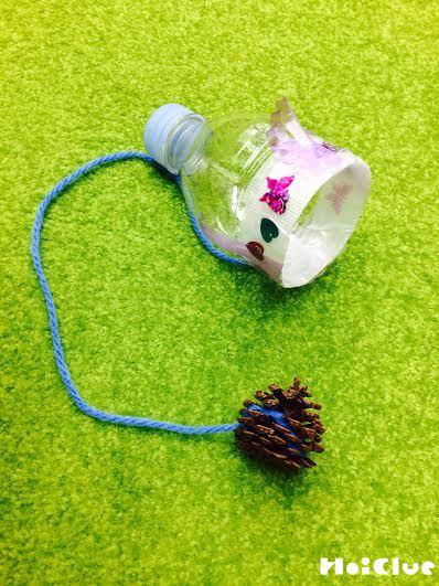 まつぼっくりけん玉〜自然の材料で楽しむ手作りおもちゃ〜