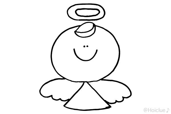 【ぬりえ】天使〜ノーマルバージョン〜