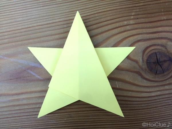 キラキラお星さま〜折り紙1枚で作る七夕飾り〜