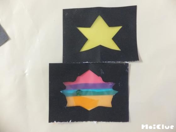 お星さまステンドグラス〜キラキラ光る手作り飾り〜