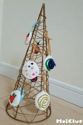 手作りクリスマスオーナメント〜紙粘土で楽しむ製作遊び〜