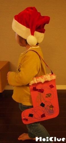 クリスマスブーツ〜幅広い年齢で楽しめる製作遊び〜