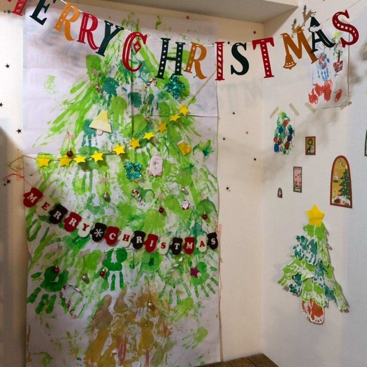 【アプリ投稿】*クリスマスツリータペストリー風