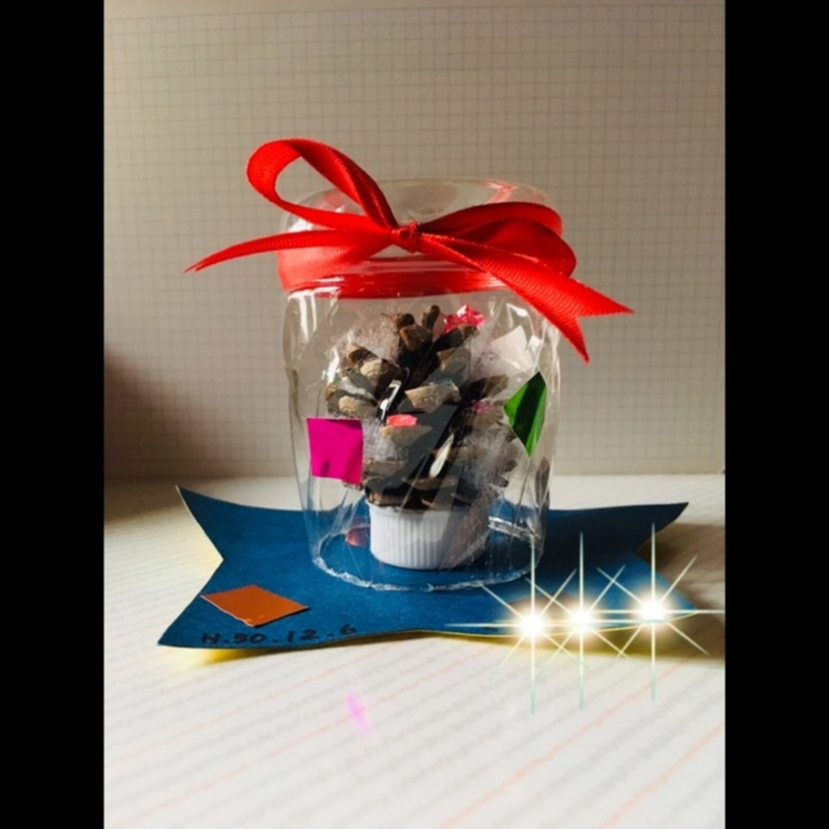 【アプリ投稿】クリスマス飾り スノードーム