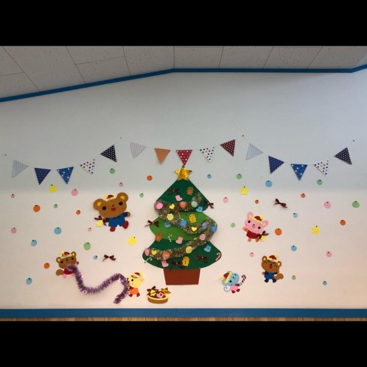 【アプリ投稿】壁面  クリスマス