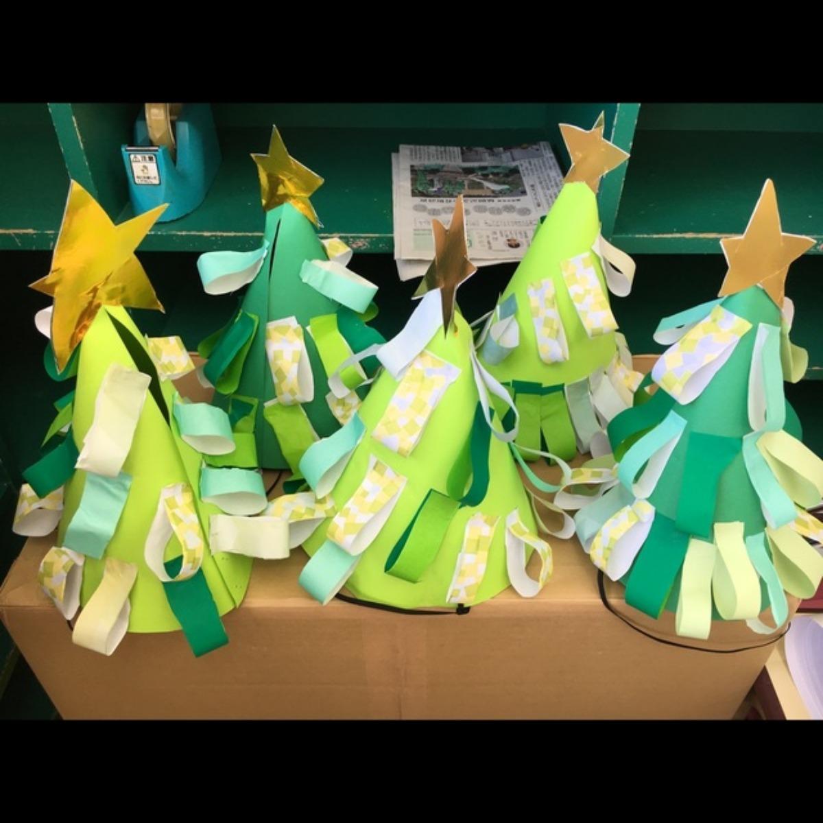 【アプリ投稿】クリスマス会の三角帽子