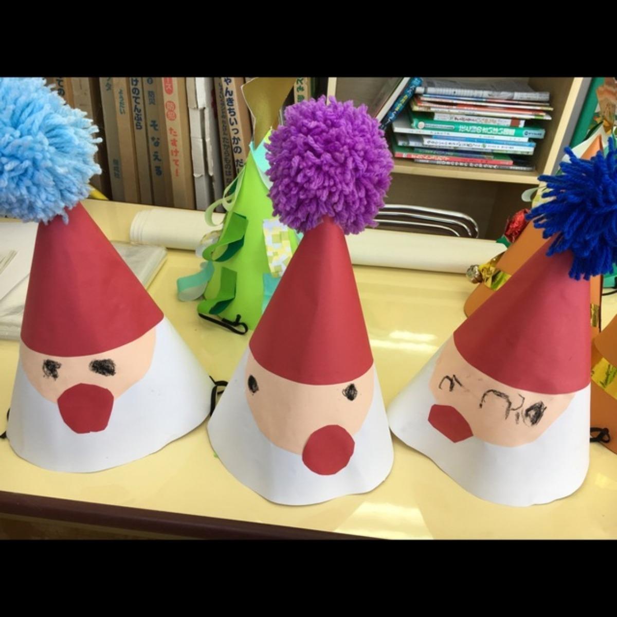 【アプリ投稿】クリスマス会のサンタ帽子
