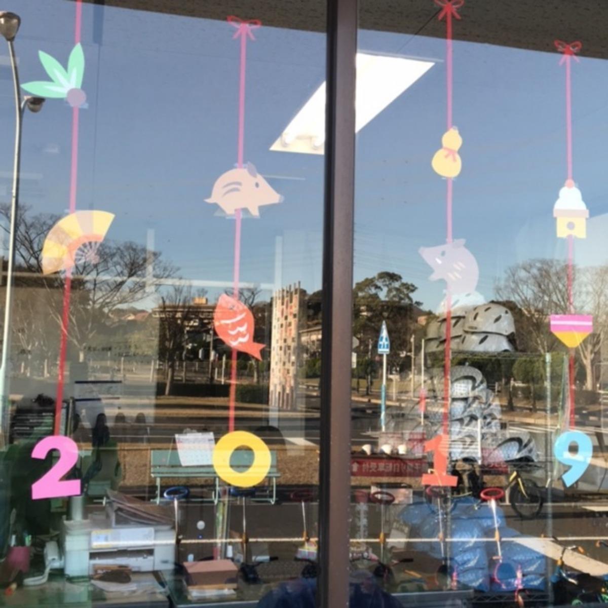 【アプリ投稿】窓飾り2019