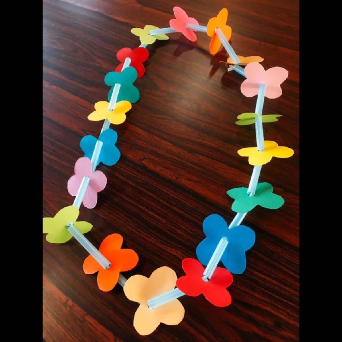 【アプリ投稿】お花の首飾り🌼