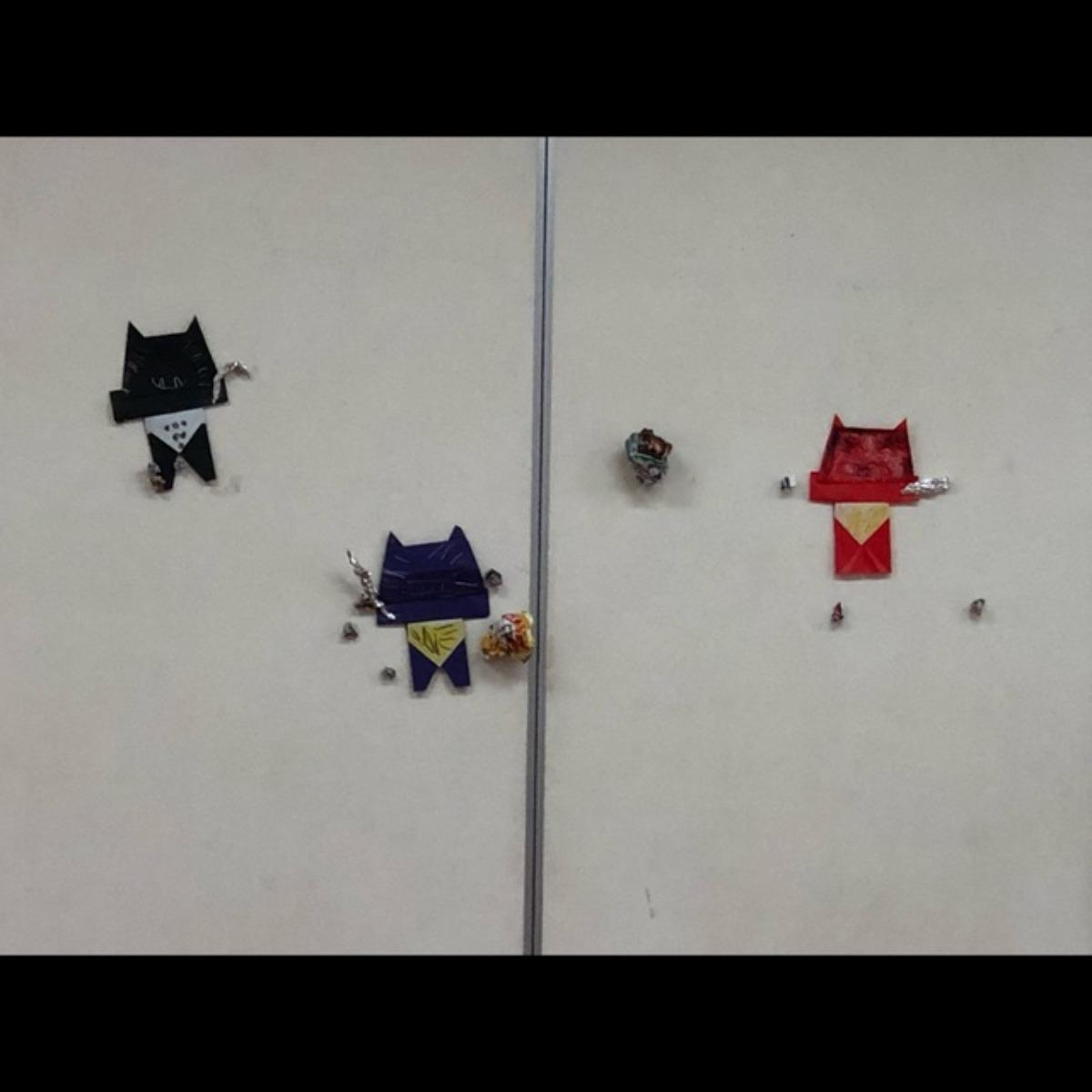 【アプリ投稿】4歳児 折り紙(鬼👹)
