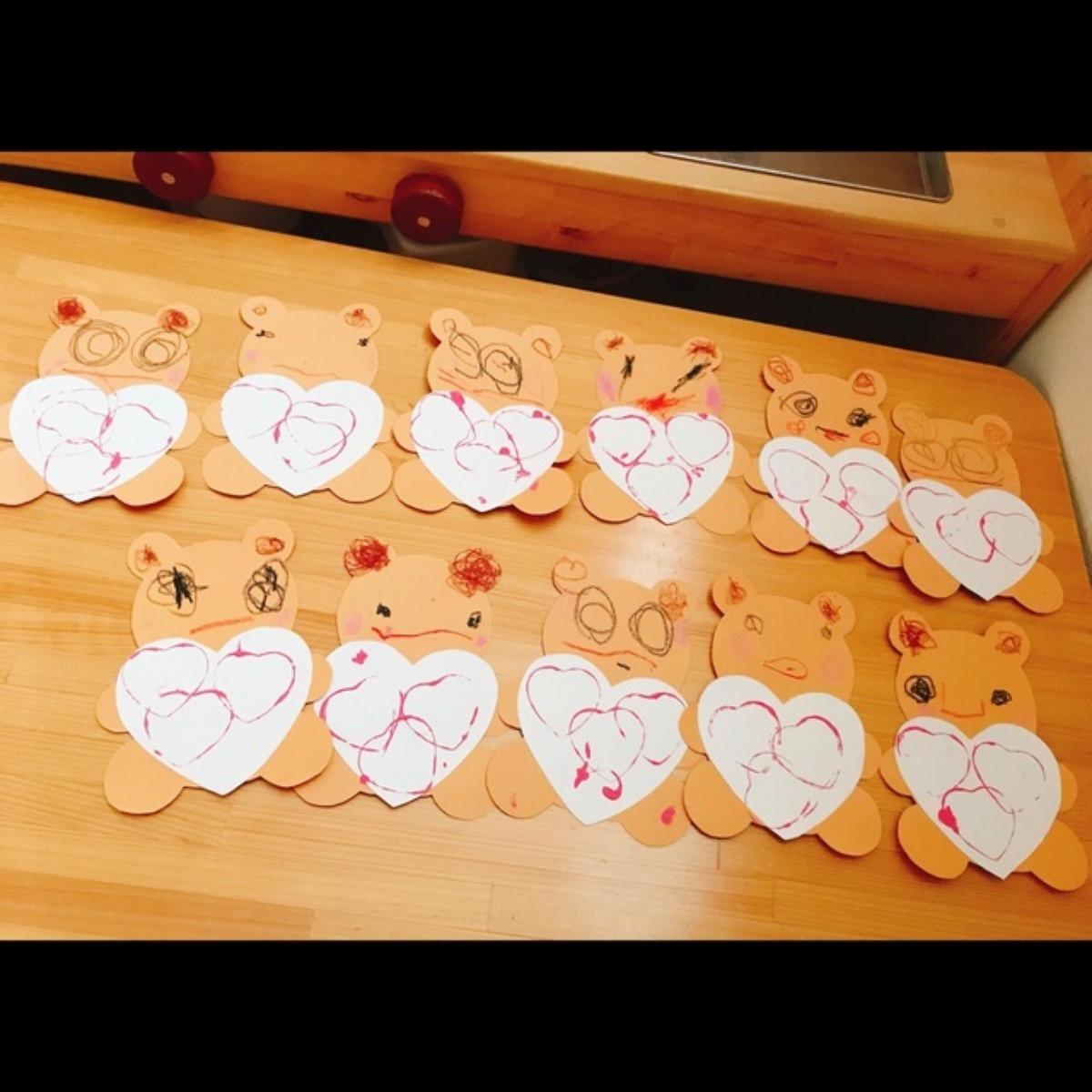 【アプリ投稿】バレンタイン製作❤️❤️