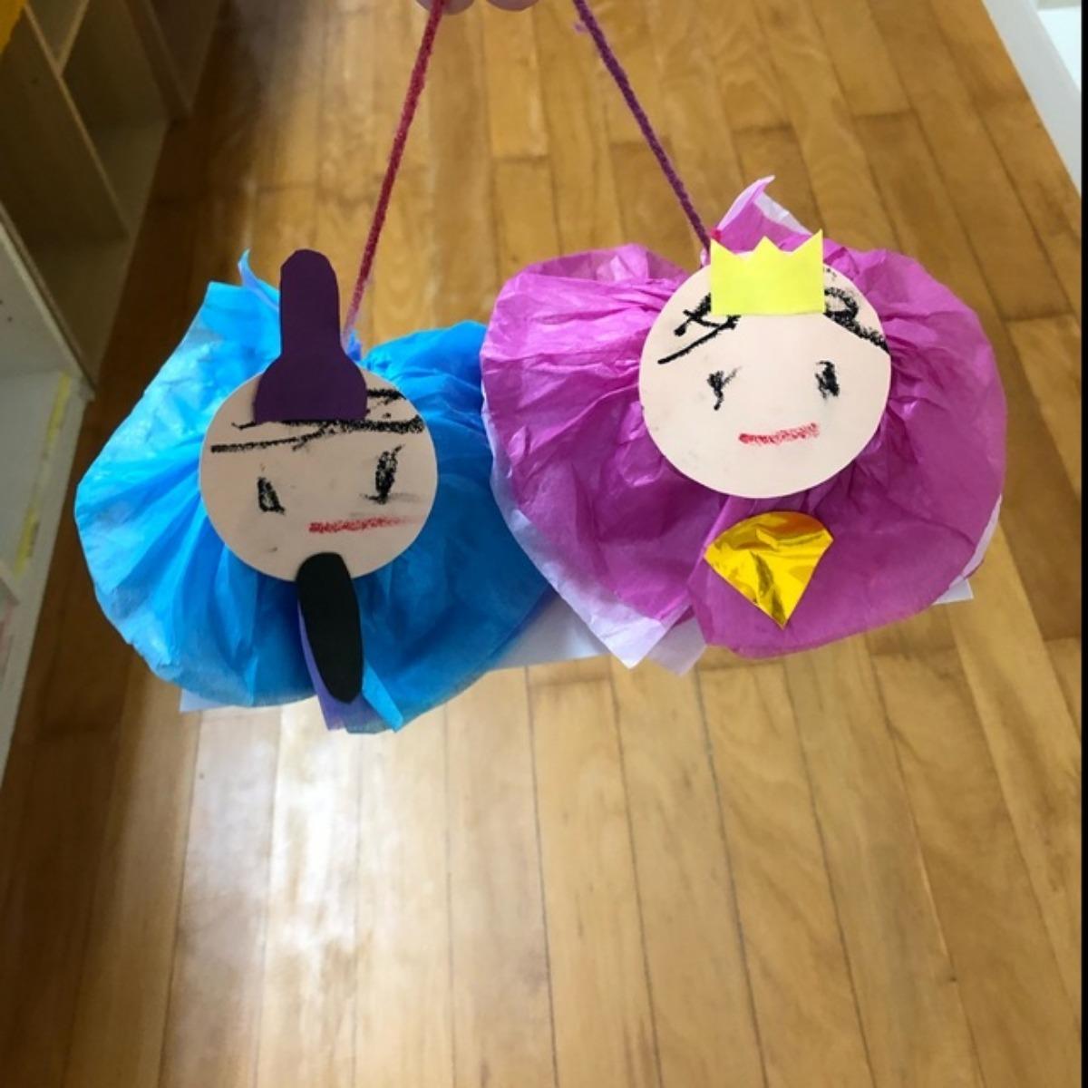 【アプリ投稿】★お花紙でひな人形★