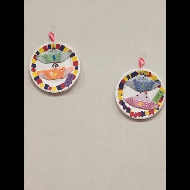 【アプリ投稿】4歳児 折り紙パートII(お雛様🎎)