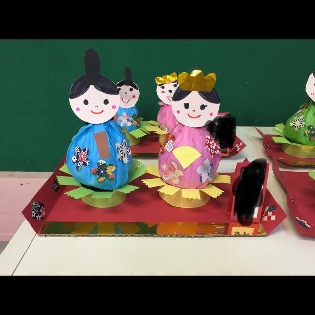 【アプリ投稿】5歳児  ひな祭り製作