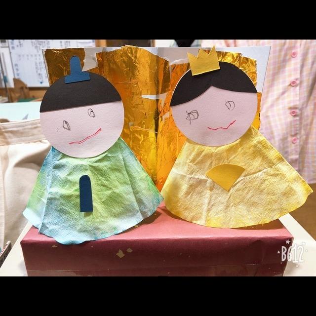 【アプリ投稿】ひなまつり製作2歳児