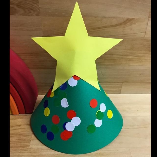 【アプリ投稿】1歳児、12月、もみの木帽子