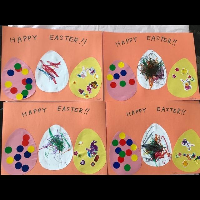 【アプリ投稿】【Easter craft】1、2歳児