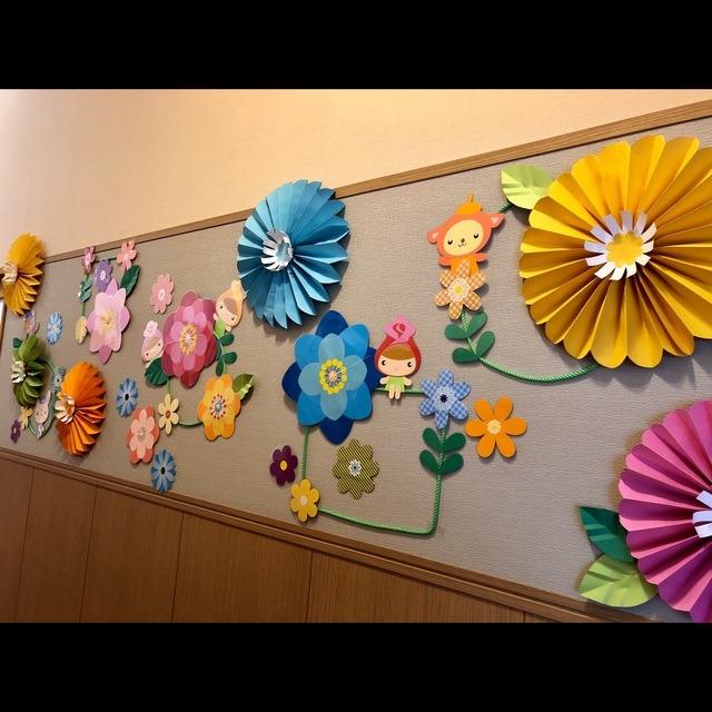 【アプリ投稿】春の壁面🌼