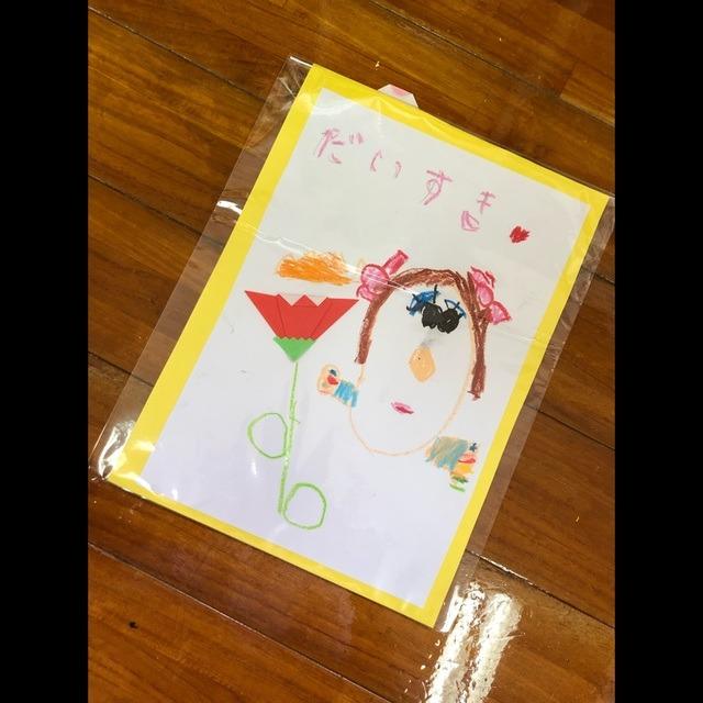 【アプリ投稿】4歳児 母の日制作