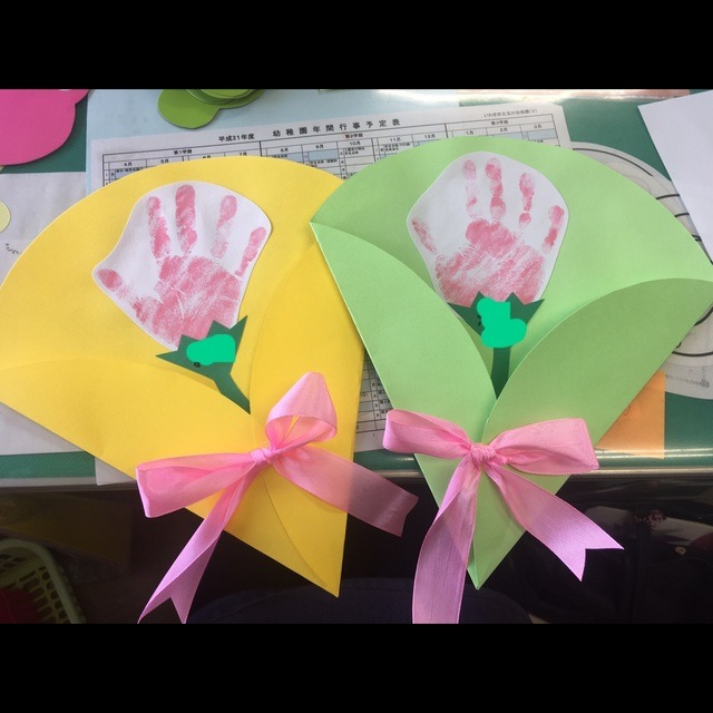 【アプリ投稿】母の日 3歳児
