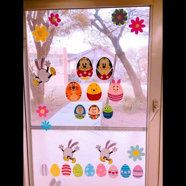 【アプリ投稿】春の壁面装飾(b'3`*)