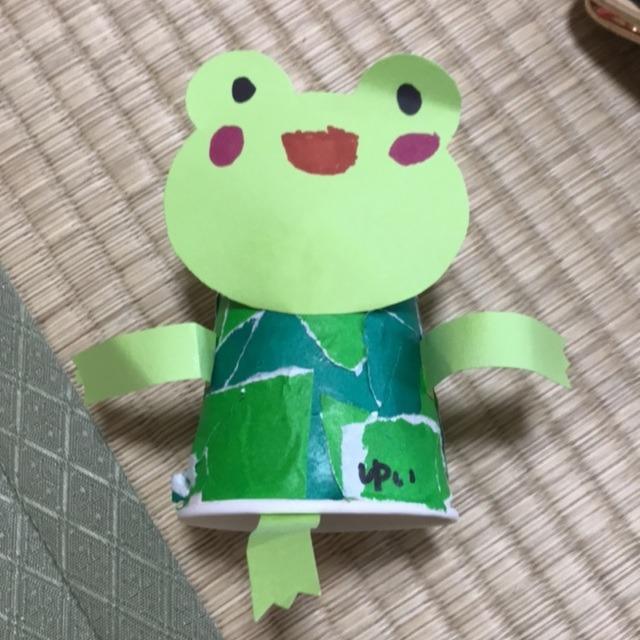 【アプリ投稿】カエル 製作