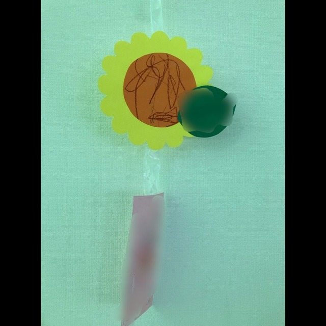 【アプリ投稿】七夕 0.1歳児 向日葵、短冊‼︎
